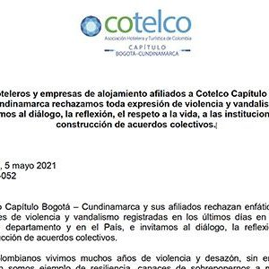 Lee más sobre el artículo Comunicado Cotelco Bogotá