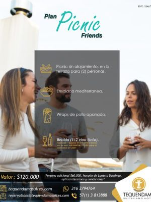 2. Tequendama Suites and Hotel Plan Picnic Friends